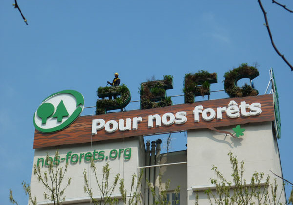 Green Up Paris Mur végétal