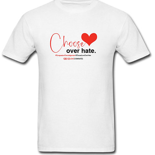 Choose Love Over Hate Tee