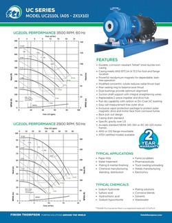 Centrifugal - UC2110L Technical Flyer