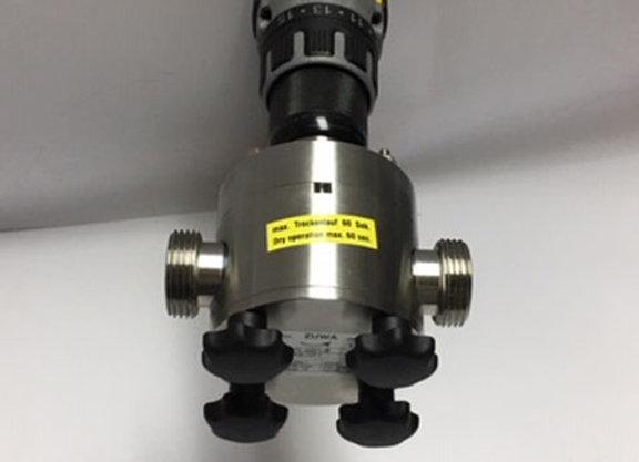 NIROSTAR 2001-A, Drill Powered Pump
