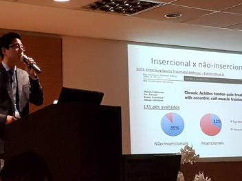 """Dr. Guilherme ministrou aula no curso """"O Tendão Calcâneo"""", promovido pela Associação Brasi"""