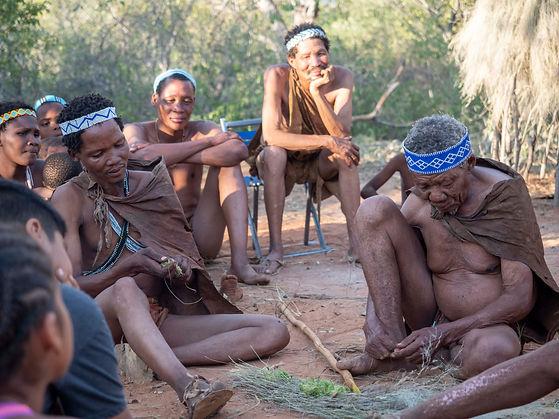 KhoiSan Bushman-Botswana