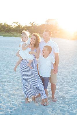 maternity and family portraits on hilton head island sc