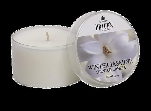 "Tin Candle - ""Winter Jasmine"" (Verpakt per 3)"