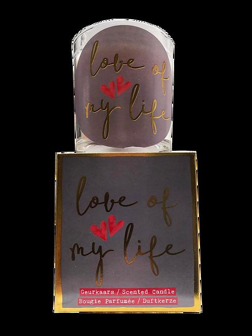 "Giftbox GC066 - ""Love of my life"" (Verpakt per 3)"