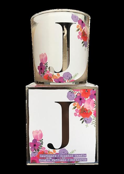 """Giftbox GC076 - """"J"""" (Verpakt per 3)"""