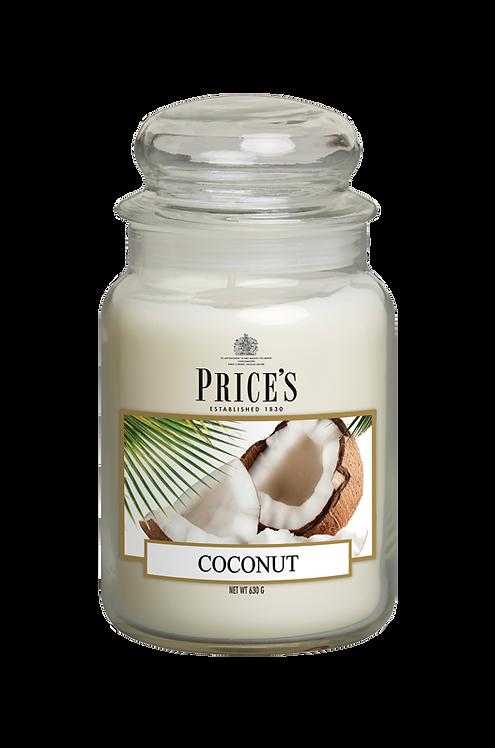 "Large Jar - ""Coconut"" (Verpakt per 3)"