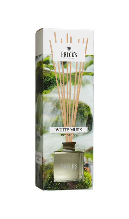 "Reed Diffuser - ""White Musk"" (Verpakt per 4)"