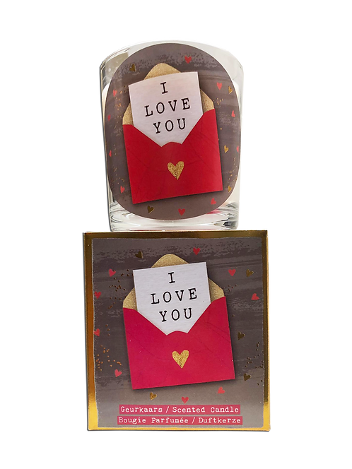 "Giftbox ""I love you"" (Verpakt per 3)"