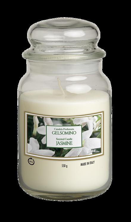 "Large Jar - ""Jasmine"" (Verpakt per 3)"