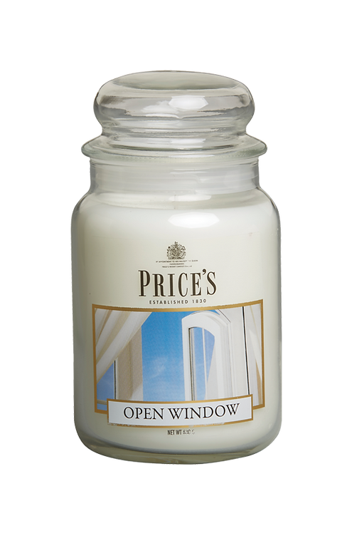 "Large Jar - ""Open Window""  (Verpakt per 3)"