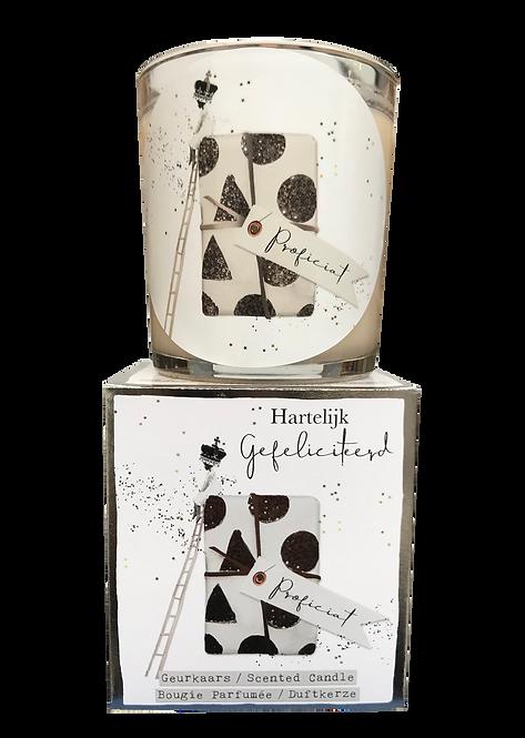 """Giftbox GC048 -  """"Hartelijk Gefeliciteerd """" (Verpakt per 3)"""