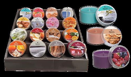 Voordeelpakket Tin Candles (16 geuren x 3 stuks)