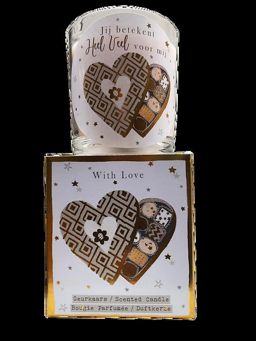 "Giftbox ""With love"" (Verpakt per 3)"