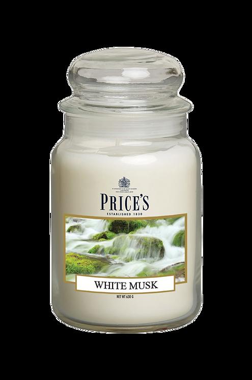 "Large Jar - ""White Musk"" (Verpakt per 3)"