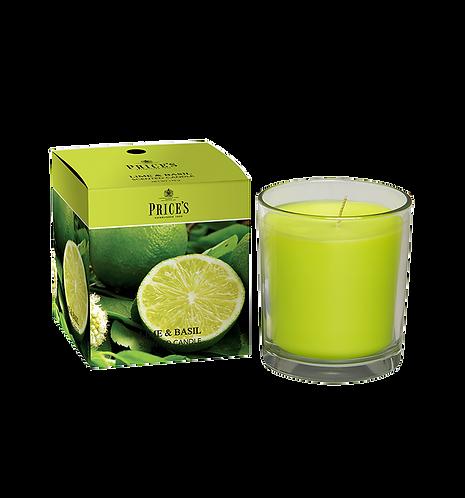 "Boxed Jar - ""Lime & Basil"" (Verpakt per 3)"
