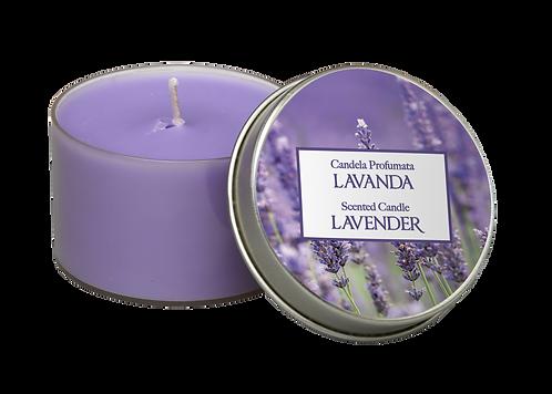 "Tin Candle - ""Lavender"" (Verpakt per 3)"