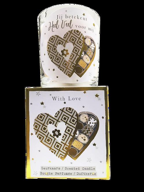 """Giftbox GC029 - """"Love"""" (Verpakt per 3)"""