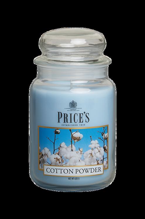 """Large Jar - """"Cotton Powder"""" (Verpakt per 3)"""