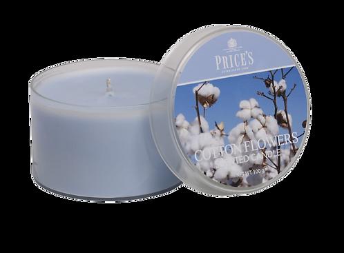 "Tin Candle - ""Cotton Powder"" (Verpakt per 3)"