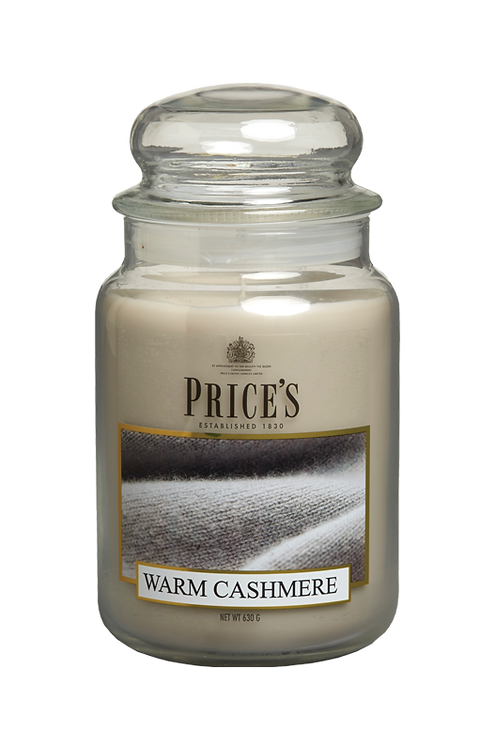 "Large Jar - ""Warm Cashmere"" (Verpakt per 3)"