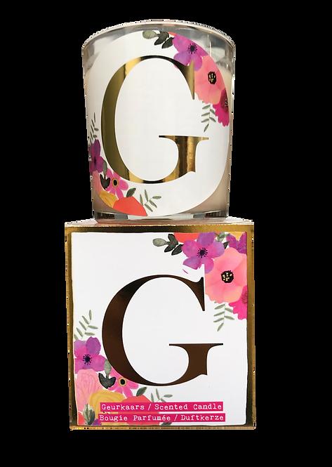 """Giftbox GC073 - """"G"""" (Verpakt per 3)"""