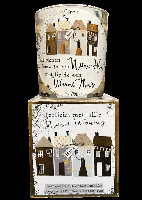 """Giftbox GC021 - """"Nieuwe woning"""" (Verpakt per 3)"""