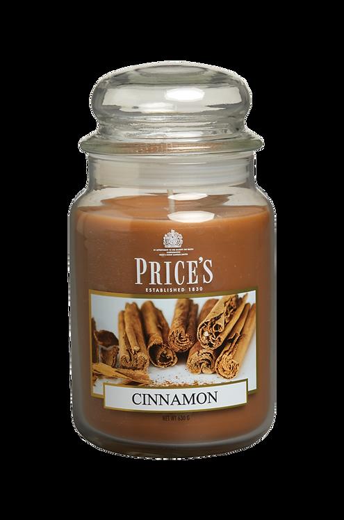 """Large Jar - """"Cinnamon"""" (verpakt per 3)"""