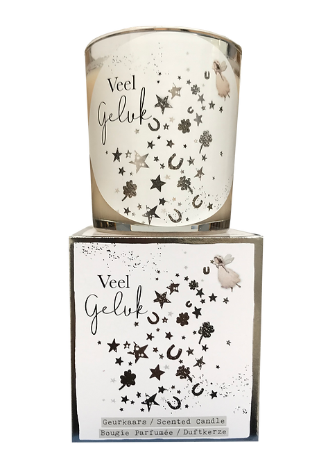 """Giftbox GC044 - """"Veel geluk"""" (Verpakt per 3)"""