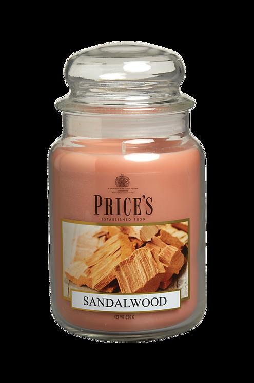"""Large Jar - """"Sandalwood"""" (Verpakt per 3)"""