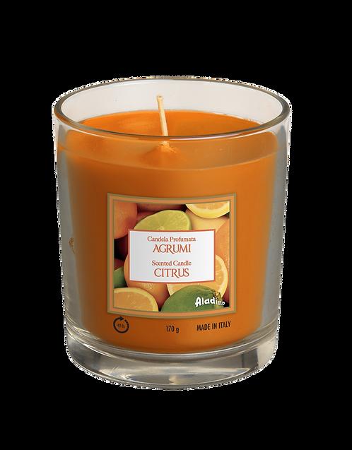 """Glass Jar - """"Citrus"""" (Verpakt per 6)"""