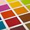 Choose your color, initials, Pantone
