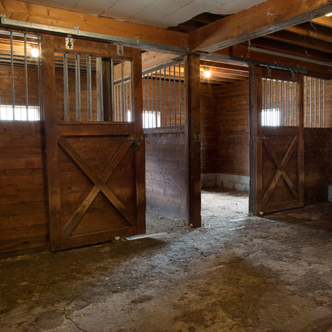 Six stalls ready to use