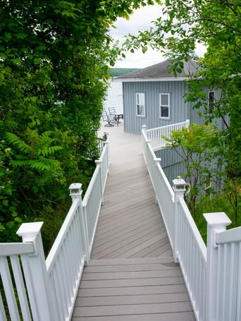 Walkway to the Boathouse