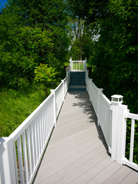 Walkway from the Boathouse