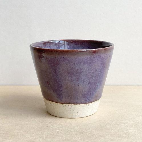#F13_Sake cup (Burgundy)