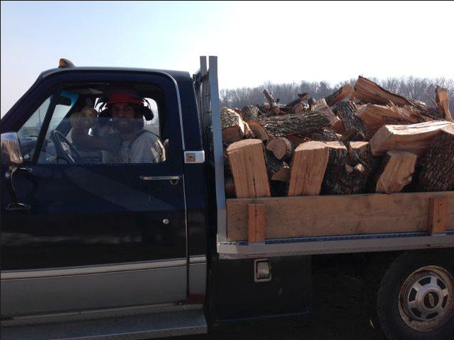 Firewood Day at York Farm