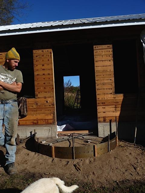 Prep for Free Concrete- Thanks Mark!
