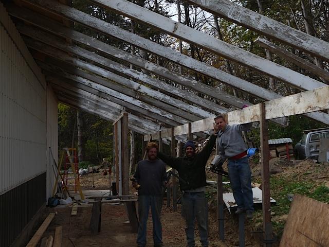 Josh Reinitz & Andy Cotter Helping