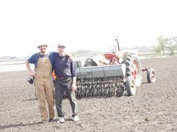 Daniel + Dennis on the Farm