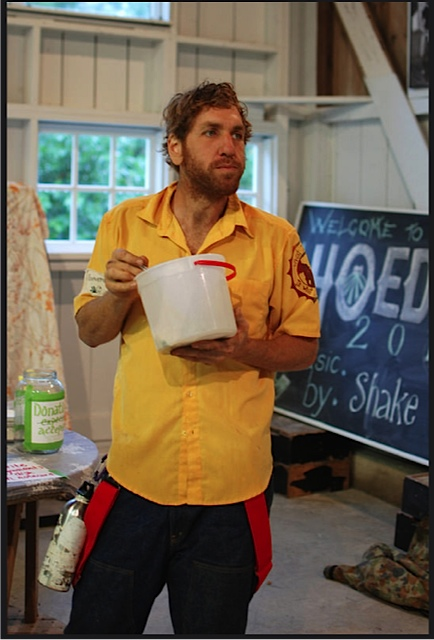 Daniel at York Farm Hoedown