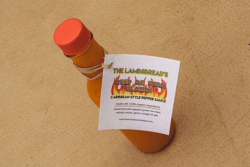 Keep De Fyah Blazin' - Pepper Sauce