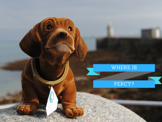 Our Facebook Competition Week 2 of 3 -  Where was Percy this week?