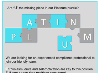 Are you an experienced compliance professional looking for an exciting opportunity?