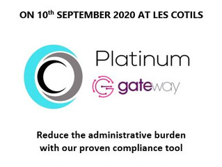 JOIN US FOR BREAKFAST ON 10TH SEPTEMBER 2020 FOR THE LAUNCH OF OUR NEW COMPLIANCE MONITORING  SYSTEM