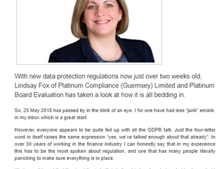 GDPR - How is it all working out?