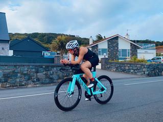 Platinum's Chloe Truffitt gets a triathlon hat-trick
