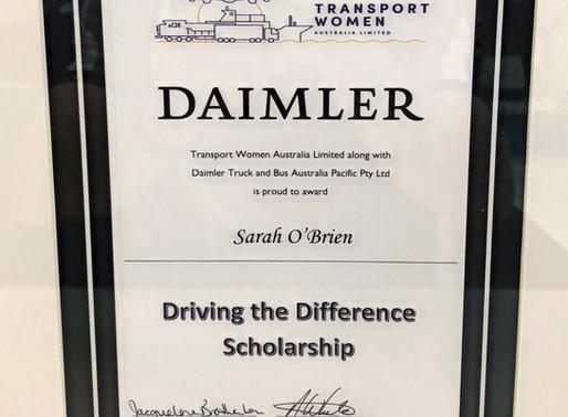 Transport Women Australia Scholarship