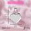 Thumbnail: 925 Ayar Kapaklı Gümüş Madalyon Kalp Kolye