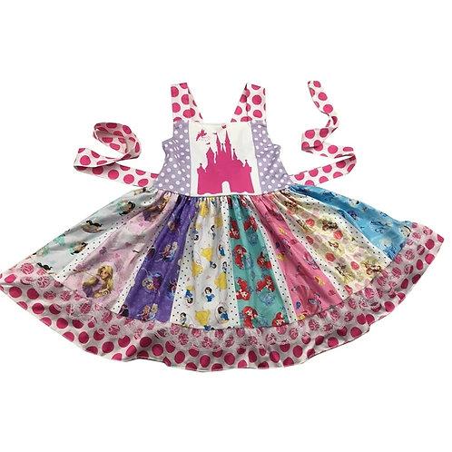 Castle & Princess Dress